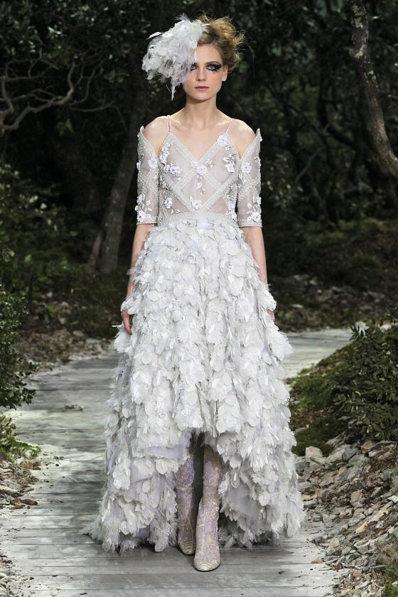 Paris Fashion Week Haute Couture Spring 2013 - Chanel - Catwalk