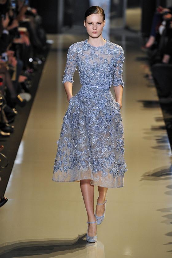 Paris Fashion Week Haute Couture Spring 2013 - Elie Saab - Catwalk